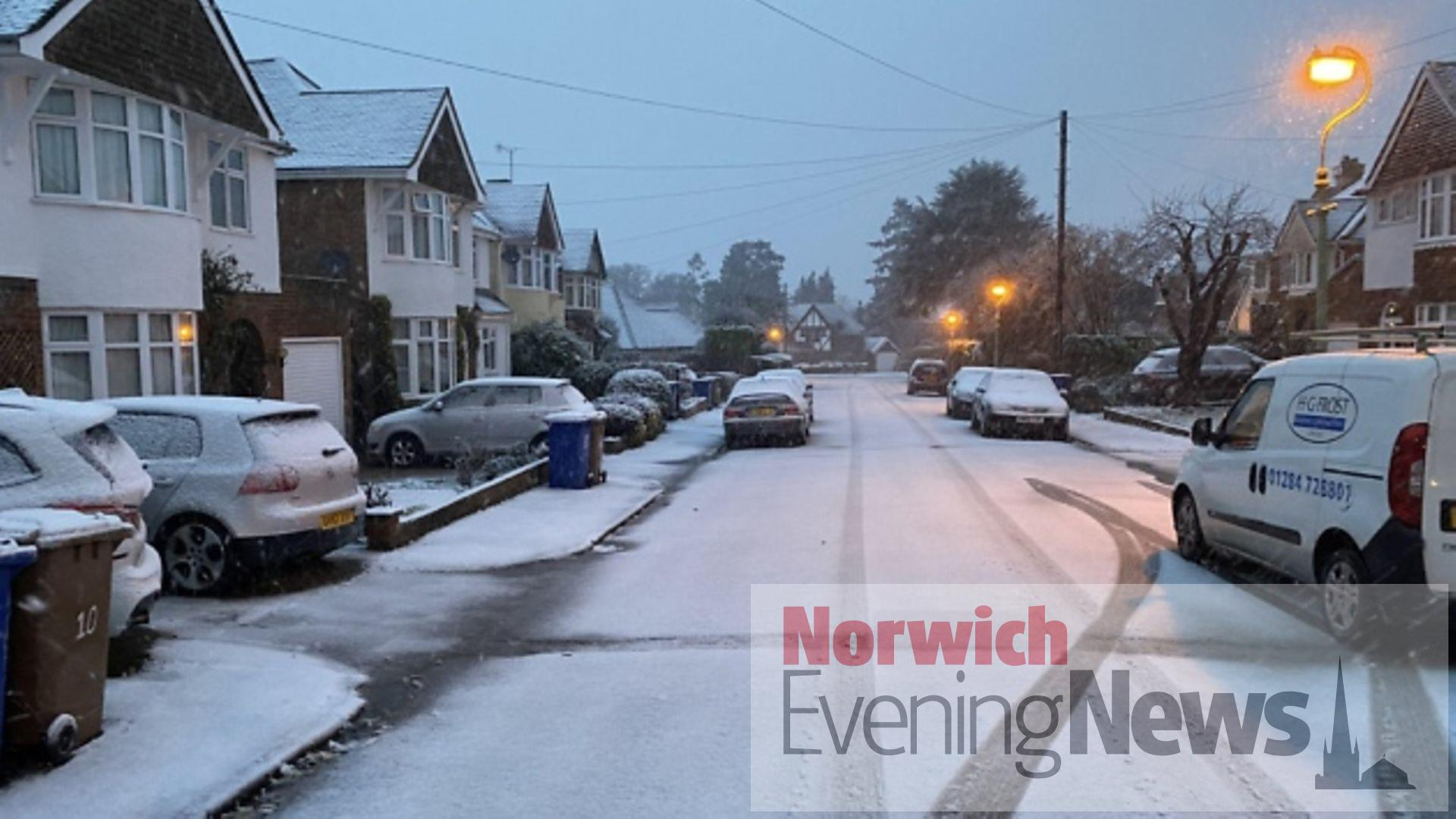 Heavy rain, flooding and first snow forecast in Norfolk ...