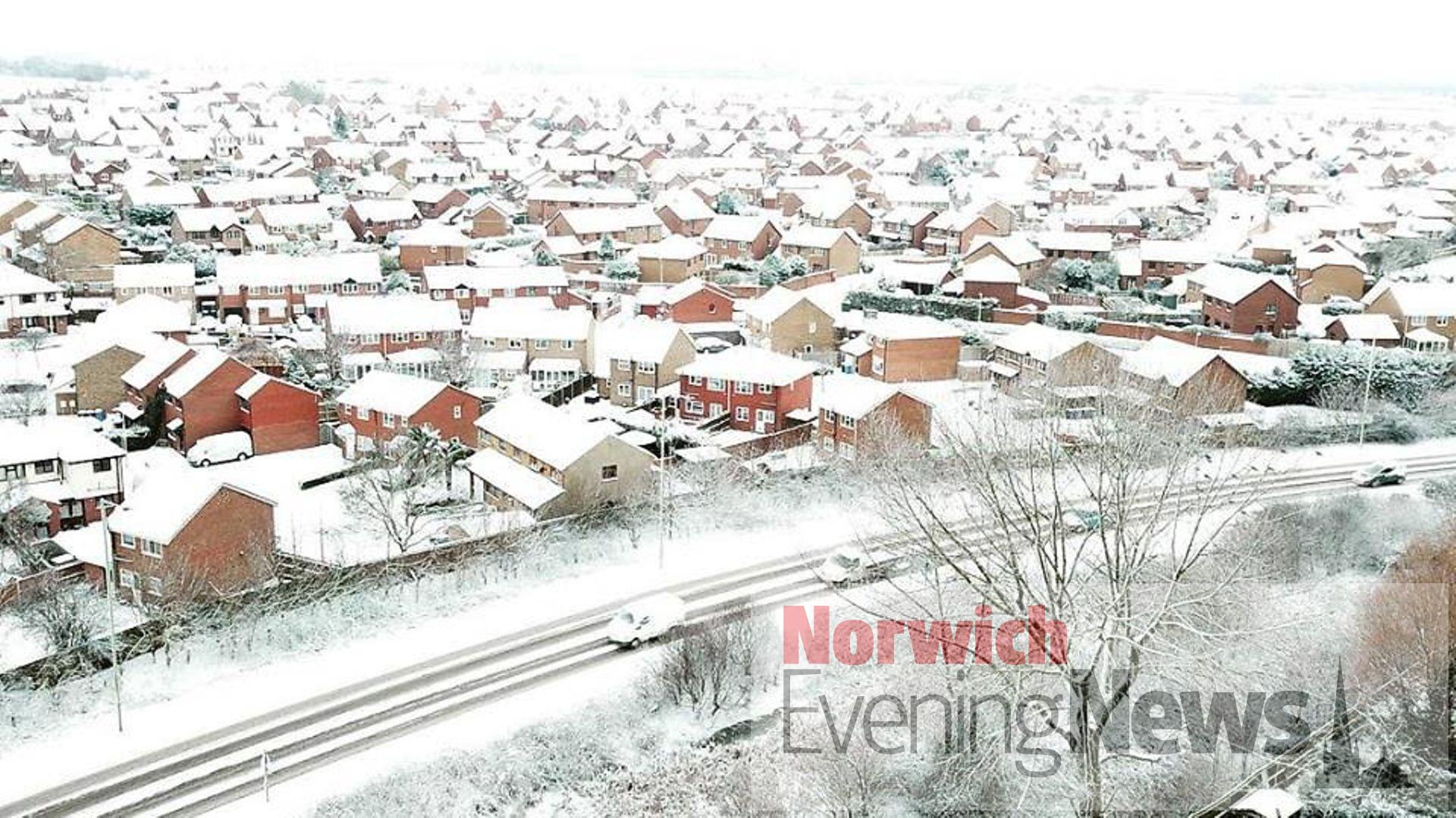 Met Office forecasts snow in Norfolk and Suffolk   Norwich ...